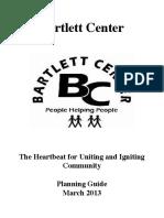 bartlett center strategic plan - 2013