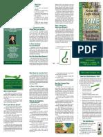 Senator Larkin Lyme Disease Brochure