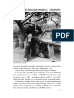 Fundación Rodney Arismendi- Centenario de Armando González, 'Gonzalito'