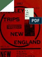 (1900) Trolley Trips Through New England