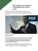 27-04-2016 Animal Político - Moreno Valle Entrega Al Congreso de Puebla La Iniciativa de Ley de Transparencia