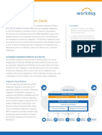 Datasheet Workday Cloud Connect Platform