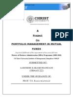 27598917 Analysis of Portfolio of Mutual Funds
