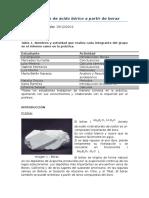 Producción de ácido bórico a partir de borax.docx