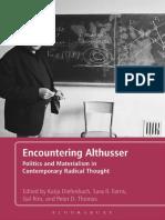 (1) Encountering Althusser 050716