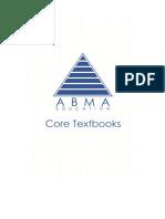 ABMA-Core-Texts.pdf