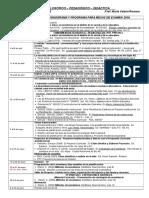 Cronograma 2016 - Persp. FILO-PED-DID (Lengua)