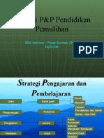 Strategi P&P Pendidikan Pemulihan