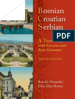 01.Bosnian Croatian Serbian a Textbook With Exercises and Basic Grammar.pdf