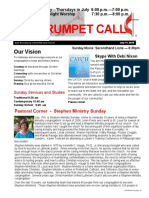 TrumpetCall 2016-7-17