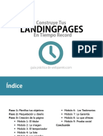 Landing Page en Tiempo Record