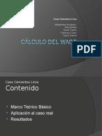 Cálculo del WACC - Caso Cementos Lima.pps