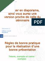 Conseil s Presentation Orale
