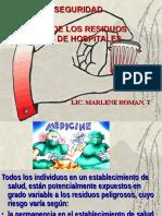 RESIDUOS HOSPITALARIOS  UMSS