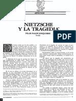 Nietzsche y La Tragedia - Pilar Jonqueres