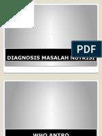 Diagnosis Masalah Nutrisi
