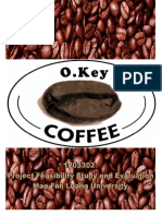 Project Feasibility Study and Evaluation-OKey Coffee-Aj.chaiyawat Thongintr