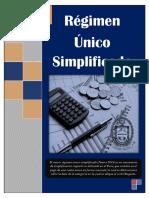 Regimen Unico Simplificado