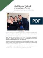 29.06.16 Rafael Moreno Valle, el hombre que transformó Puebla