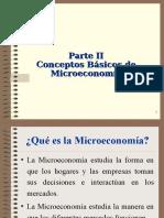 Parte II_Conceptos Ba_sicos de Microeconomi_a