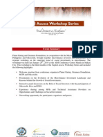 Social Investment Workshop Summary