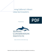 Conservation Proposal California Offshore Areas