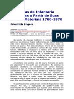 As Táticas de Infantaria Derivadas a Partir de Suas Causas Materiais - Friedrich Engels