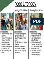 balanced literacy flyer