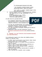 Modelo de Autobiografia Electronica.