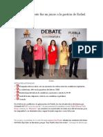 10.05.16 El debate fue un juicio a la gestión de Rafael Moreno Valle
