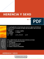 10. Herencia y Sexo