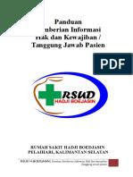 PANDUAN PEMBERIAN INFORMASI HAK DAN KEWAJIBAN.doc