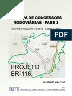 Relatório Analítico - ANTT BR 116