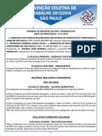 Convenção SP A4 2013-2014