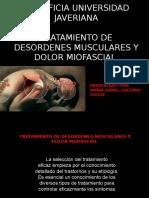 Exposición DTM Tto Muscular Dtm