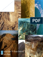 Large Open Pit Slope Stability