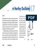 Component Hartley Oscillator