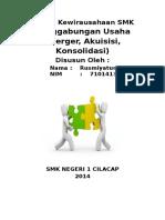 7101413249 Latihan 16 Materi Penggabungan Usaha