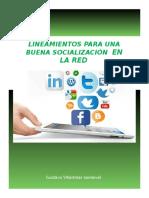 Lineamientos Para Una Buena Socializacion en La Red_Gustavo Villamizar Sandoval