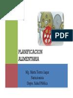 Clase Planificacion Alimentaria