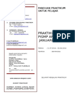 3. Cover Panduan Praktikum - Pelajar. Pismp Jan 2014 26616