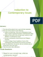 introduction to contemporary issues