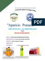 Informe de Bebida Hidratante