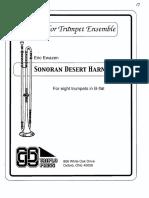 Score - Ewazen - Sonoran Desert Harmonies