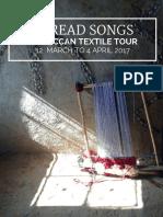 Thread Songs Moroccan Textile Tour 2017