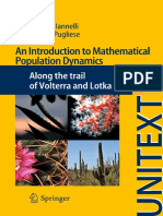 An Introduction to Mathematical Populations Dynamics
