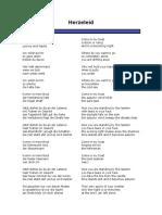 Ramnstein Songs, Deutsch English