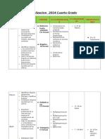 Jornalizacion  2014 cuarto grado completa.docx