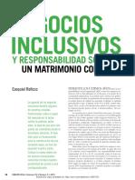 Negocios Inclusivos y RSE