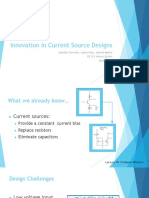 innovation in current source design pptx